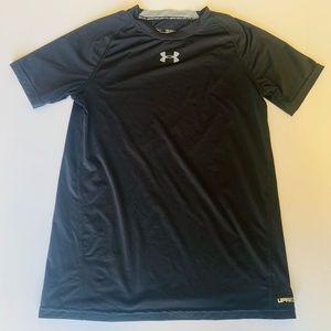 EUC Under Armour Boys XLarge Black T-shirt